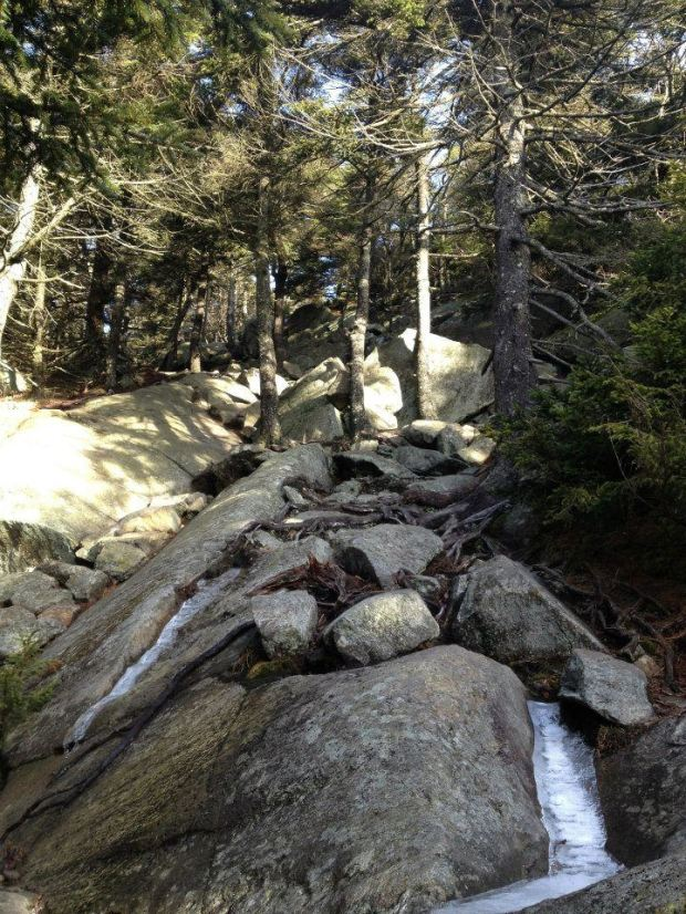2 steep rocks