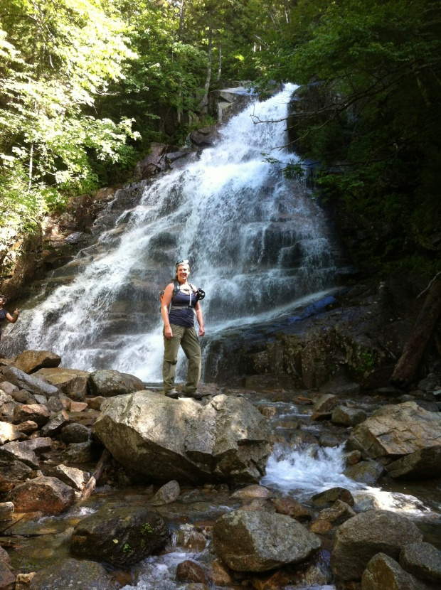 Falling Waters trail is aptly named :)