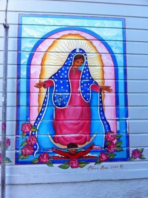 Balmy Alley Street Murals